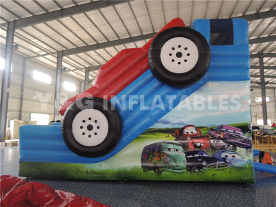 Happy Car Inflatable Slide   YS-01