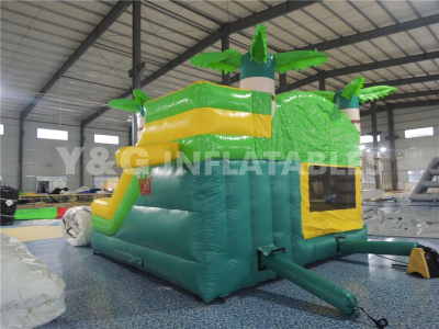 Coconut tree combo bouncer slide   YCO-08