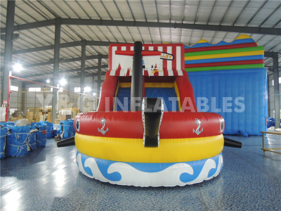 Pirate Ship Inflatable Slide   YS-04