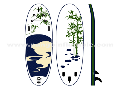 Blueness Bamboo inflatable sup